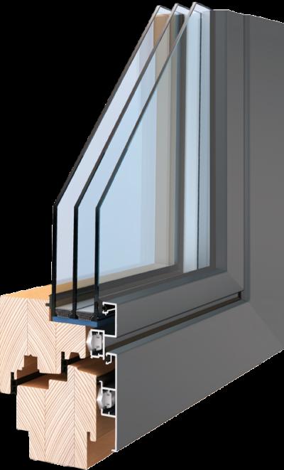 Holz-Aluminum Fenster